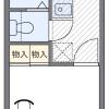 1K アパート 江戸川区 間取り