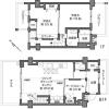 2SLDK Apartment to Buy in Musashino-shi Floorplan