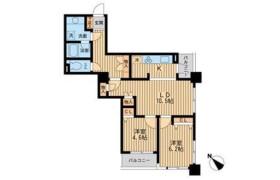2LDK Mansion in Shinkawa - Chuo-ku