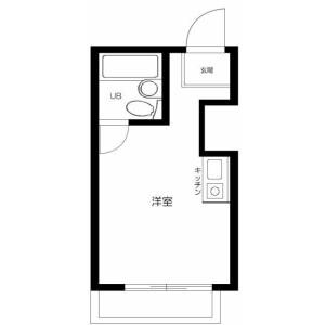 1R Apartment in Sangenjaya - Setagaya-ku Floorplan