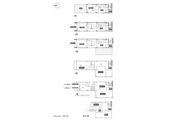 Whole Building Other to Buy in Kyoto-shi Kamigyo-ku Floorplan