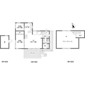 2SLDK {building type} in Nagakura - Kitasaku-gun Karuizawa-machi Floorplan
