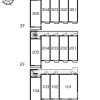 1K Apartment to Rent in Chofu-shi Layout Drawing