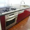 在港區內租賃2LDK 公寓大廈 的房產 廚房