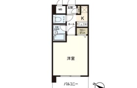 福岡市中央区 港 1K {building type}