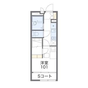 1K Apartment in Kotakecho - Nerima-ku Floorplan