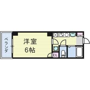 1K Mansion in Daikoku - Osaka-shi Naniwa-ku Floorplan
