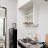 在台东区内租赁1K 公寓大厦 的 厨房