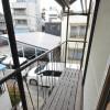 2LDK House to Rent in Minato-ku Balcony / Veranda