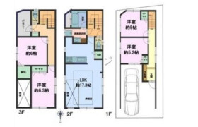4LDK {building type} in Yahiro - Sumida-ku