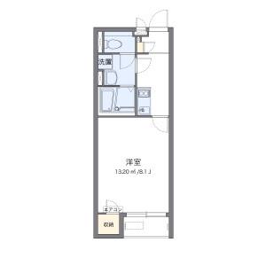 1K Apartment in Yorii - Osato-gun Yorii-machi Floorplan