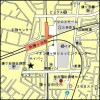 1LDK Apartment to Rent in Kamagaya-shi Access Map