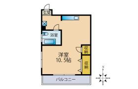 1R Mansion in Tsukagoshi - Warabi-shi