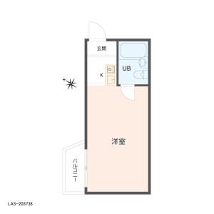 1R {building type} in Wada - Suginami-ku Floorplan