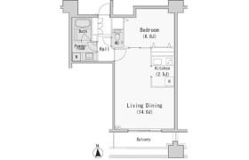 港區西麻布-1LDK公寓大廈