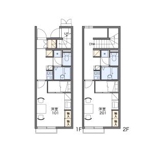 1K Apartment in Takao - Kitakyushu-shi Kokurakita-ku Floorplan