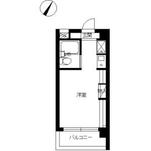 1R Mansion in Matsubara - Setagaya-ku Floorplan