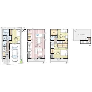 3LDK {building type} in Nishihara - Shibuya-ku Floorplan