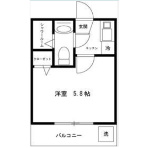 1K Apartment in Otsuka - Bunkyo-ku Floorplan