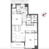 2LDK Apartment to Buy in Bunkyo-ku Floorplan