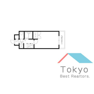1K Mansion in Kandasudacho - Chiyoda-ku Floorplan