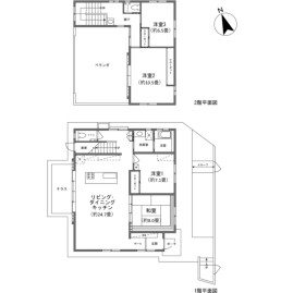 4LDK {building type} in Bise - Kunigami-gun Motobu-cho Floorplan