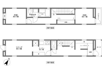 2LDK House to Buy in Abuta-gun Niseko-cho Floorplan