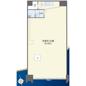 Shop {building type} in Omorikita - Ota-ku Floorplan