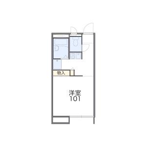 1K Apartment in Koremasa - Fuchu-shi Floorplan
