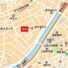 4LDK Apartment to Rent in Shinjuku-ku Map