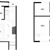 2LDK Hotel/Ryokan to Buy in Kyoto-shi Shimogyo-ku Floorplan