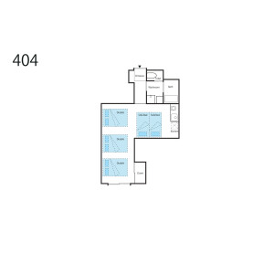 1R Mansion in Sakuragawa - Osaka-shi Naniwa-ku Floorplan