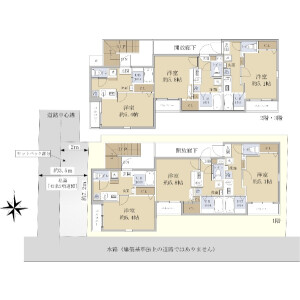 Whole Building {building type} in Nakarokugo - Ota-ku Floorplan