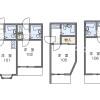 1K 아파트 to Rent in Toshima-ku Floorplan