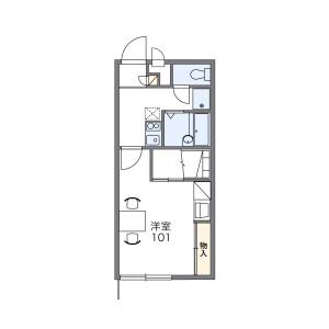1K Mansion in Iida - Kofu-shi Floorplan