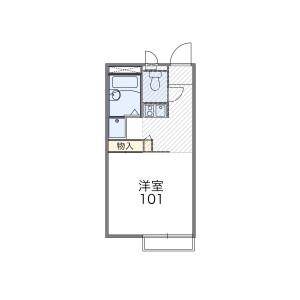 1K Apartment in Toyotamaminami - Nerima-ku Floorplan