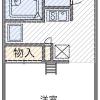 1K Apartment to Rent in Takarazuka-shi Floorplan