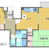3DK 맨션 to Rent in Meguro-ku Floorplan