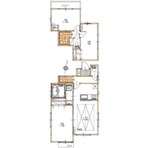 3LDK House in Kakinokizaka - Meguro-ku Floorplan