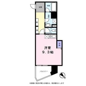 1R Mansion in Shirokane - Minato-ku Floorplan