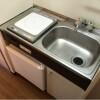 1K Apartment to Rent in Osaka-shi Tennoji-ku Kitchen