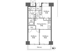 3DK Mansion in Shibaura(2-4-chome) - Minato-ku