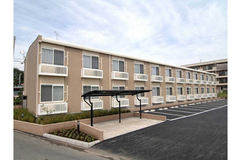 1K Apartment to Rent in Kodama-gun Kamikawa-machi Exterior