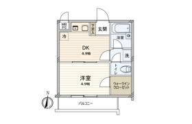 1DK {building type} in Sakuradai - Nerima-ku