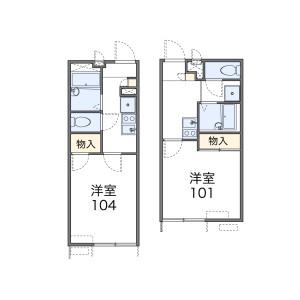1K Apartment in Nishitomi - Fujisawa-shi Floorplan