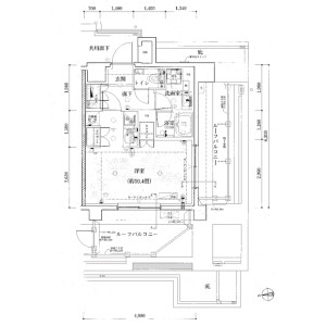 1K Mansion in Wakaba - Shinjuku-ku Floorplan