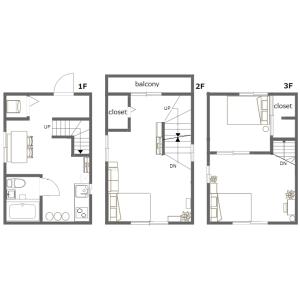 2DK House in Nishiochiai - Shinjuku-ku Floorplan