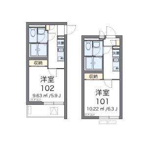 1K Apartment in Minamishinagawa - Shinagawa-ku Floorplan