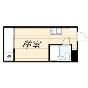 1R Mansion in Tsurumaki - Setagaya-ku Floorplan