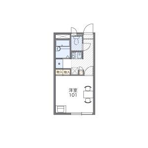 1K Apartment in Higashikoriencho - Neyagawa-shi Floorplan